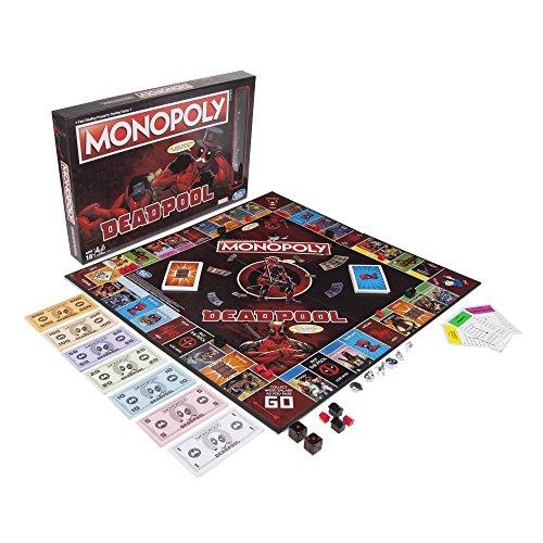 Hasbro Gaming Marvel Heroes Monopoly Deadpool, E2033