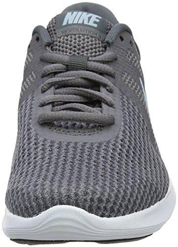Nike Women's Revolution 4 Running Shoes Grey (Gunsmoke/Ocean Bliss-dark Grey-white-black 004) NFspxIU7gS