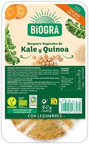 Obrador Sorribas Hamburguesa Vegetal de 3 Quinoas y Kale ...