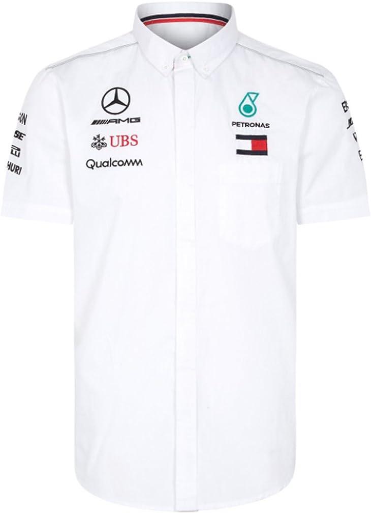 Mercedes AMG F1 Team Driver Puma Camisa Blanco Oficial 2018 ...