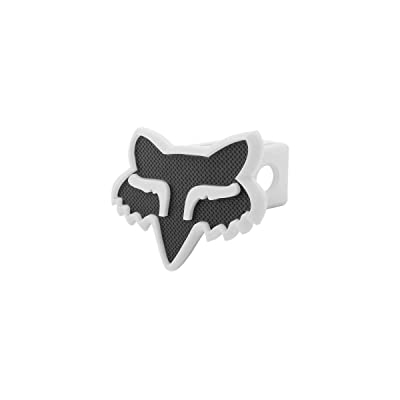 Fox Racing Fox Head Trailer Hitch Cover Black/White, One Size: Fox Head: Automotive