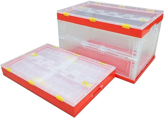Transparente Cubo Pesca Plegable Lavado Caja Plegable Cesta la ...