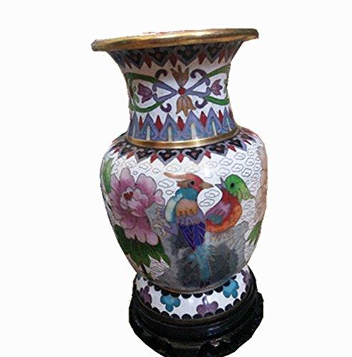 Chinese characteristics crafts copper tire filament enamel cloisonne vase