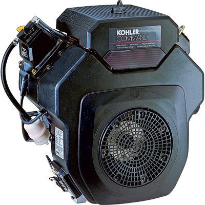 (Kohler Command V-Twin OHV Horizontal Engine with Electric Start - 674cc, 1.437in. x 4.453in. Shaft, Model# PA-CH640-3204)