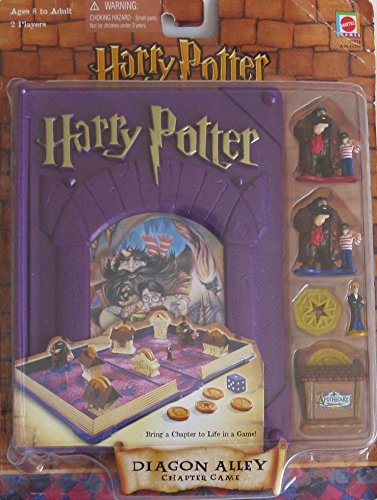 HARRY POTTER and The Sorcerer's Stone DIAGON ALLEY CHAPTER GAME (2001) (Harry Potter Polly Pocket)