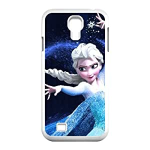 Samsung Galaxy S4 Case Cool Elsa for Guys Design, Case for Samsung Galaxy S4 Bloomingbluerose, [White]