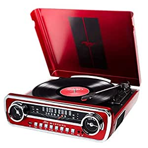 Amazon.com: ION Record Player Turn Table 1965 Classic Car