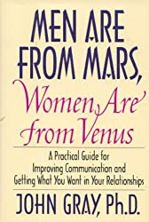 Men Are From Mars Women Are From Venus 1992 HarperCollins first edition hardback