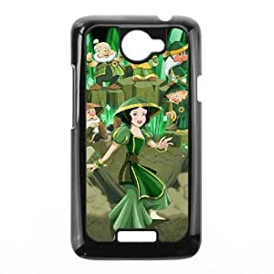 Disney Snow White And The Seven Dwarfs Character HTC One X Cell Phone Case Black Customized Toy pxf005_9726522
