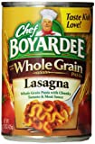 Chef Boyardee Whole Grain Lasagna, 15-Ounce Cans (Pack of 12)