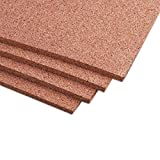 Manton Cork Sheet, 100% Natural, 4' x 8' x 1/2' - Thickest Available