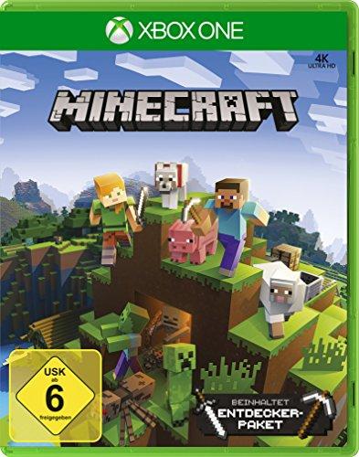 Minecraft Xbox One Edition Inkl Explorers Pack Amazonde Games - Minecraft xbox und pc zusammen spielen