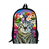 TOREEP Cute Colorful Cat Print