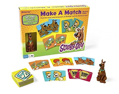 Scooby-doo Make A Match Game by Pressman Toys