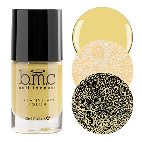 r Custard Yellow Pastel Nail Stamping Polish Set - Whatever Forever, LOL (Yellow Custard)