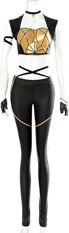 MingoTor superheroína Mono Onesies Outfit Disfraz Traje de Cosplay ...