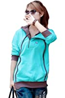 Mordenmiss Women's Fashion Sweatshirt Casual Sport Shirt with Hood