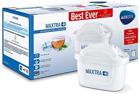 BRITA Maxtra+ Cartuchos para filtrado de Agua, Color Blanco, plástico, Blanco, Pack de 6: Amazon.es: Hogar