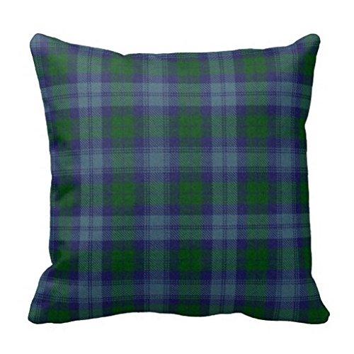 Miss Gaga Ugly Traditional Sutherland Tartan Plaid Pillow Ca