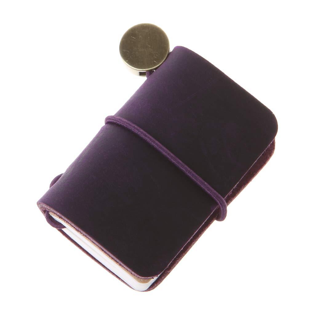 Amazon com: Forgun Portable Leather Travel Book Mini Journal
