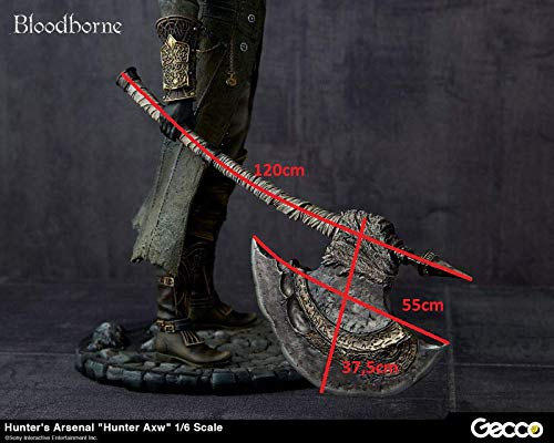The Hunters Axe God of War replica cosplay armor cosplay props Bloodborne cosplay costume weapon Kratos prop Bloodborne cosplay