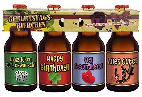 Geburtstags Bier Im Happy Birthday 4er Trager Teil 2 Amazon De