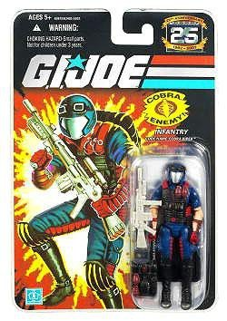 G.I. Joe 25th Anniversary: Cobra Viper (Infantry) 3.75 Inch Action Figure ()