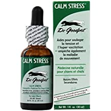 Dr. Goodpet - Calm Stress Homeopathic Formula For Dogs & Cats - 1 fl. oz.