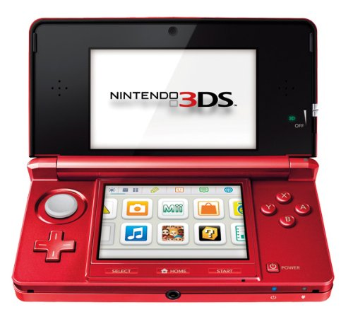 nintendo 3ds console metallic red importaci n italiana. Black Bedroom Furniture Sets. Home Design Ideas