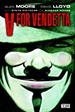 Front cover for the book V for Vendetta by Alan Moore
