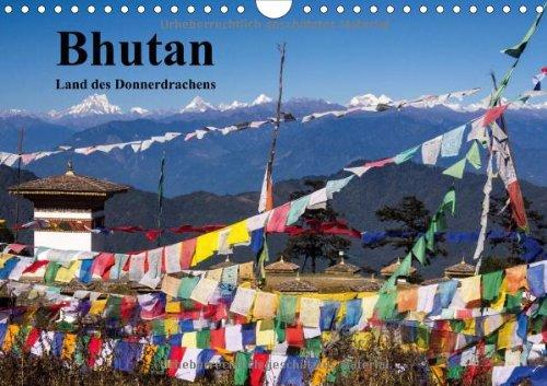 bhutan-2014-land-des-donnerdrachens-wandkalender-2014-din-a4-quer-klster-menschen-und-landschaften-aus-bhutan-monatskalender-14-seiten