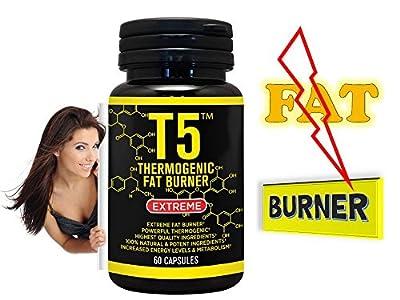 Fat Burner Capsules 100% Slim Strongest Legal Slimming T5 Diet Pills Weight Loss