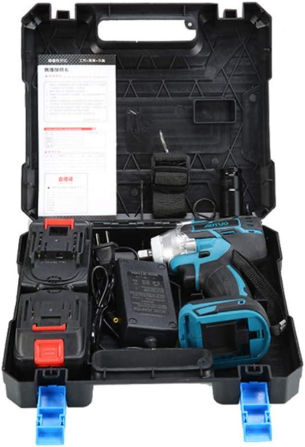 Torque 3200 RPM XDXDO Llave El/éctrica Profesional Multifuncional 3 En 1 La Llave De Impacto Inal/ámbrica De 21 V Viene con Bater/ías Y Accesorios 520 NM Velocidad