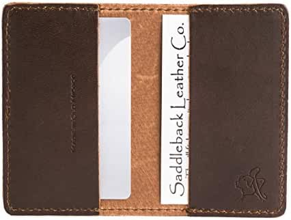 Saddleback Leather Business / Credit Card Wallet
