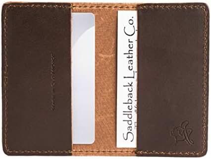 Saddleback Leather Business / Credit Card Wallet