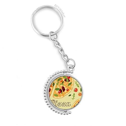 DIYthinker Pizza de Italia Tomate Alimentos Hoja giratoria ...