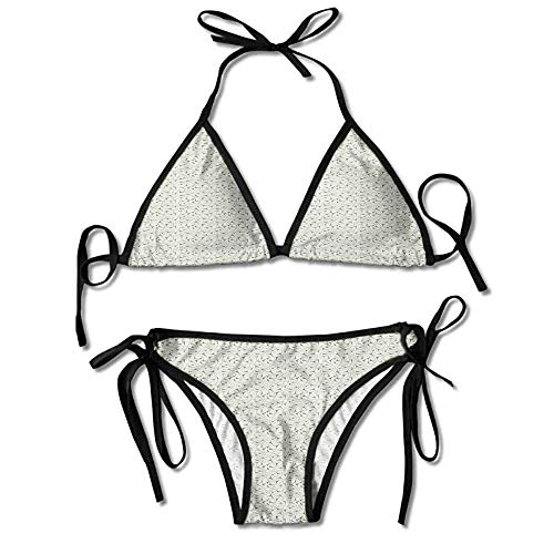 Women's Bathing Bikini Set,Designs Art Nouveau Style Sexy Bikini 2 Pieces (Cup Nouveau Art Pull)