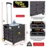 dbest products Quik Cart Pro Wheeled Rolling