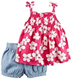Carter's Baby Girls' 2 Pc Playwear Sets 239g356, Print, 12M
