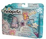 Neopets Collector Figure Pack series 1 : Faerie Cybunny and Pink Ona