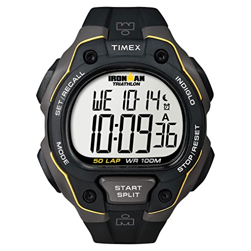 Timex Ironman 50-Lap Black by Timex (Image #1)