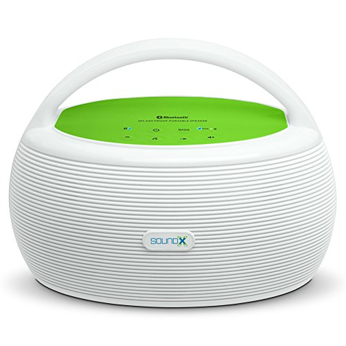 Singing Machine SMI440BT 20W Portable Bluetooth Audio Streaming for Smartphone
