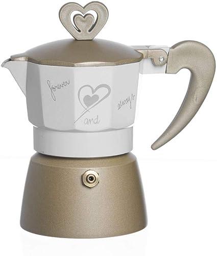 Bomboniere Caffettiere Per Matrimonio Prezzi.Eventi Lieti Bomboniera Matrimonio Nozze Sposi Caffettiere In