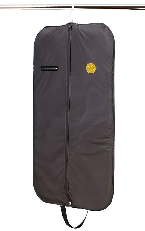 Rayen 2022.5 - Bolsa guardarropa, con asa, Cremallera y Ventana, 100 x 60 cm