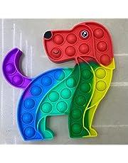 Fidget leksak sensoriskt tänkande schack dekompression leksak pussel finger klämma bubbla musik, lämplig för vuxna och barn