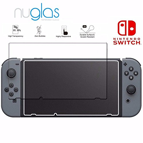 #Nuglas Displayschutzfolie für Nintendo Switch | Ultra Thin 0,3 mm | Echtglas#