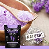 Calming Lavender Foot Soak with Epsom Salt, Made in USA, Antifungal Foot Soak Soothes Sore Tired Feet, Athletes Foot, Stubborn Foot Odor, Softens Calluses & Helps Treat Toenail Fungus, 32 oz