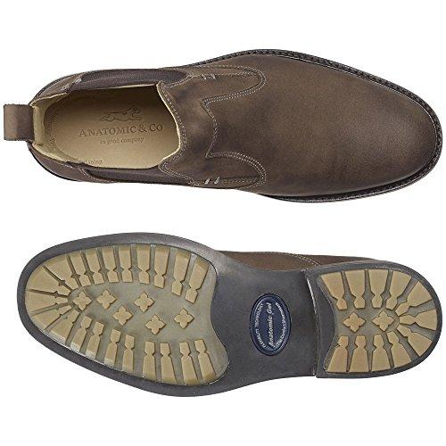 Anatomisch, und Co 909072Garibaldi grau Touch Slip On Stiefel Vintage Grey