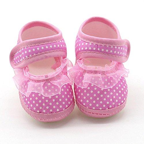 Huhu833 Neugeborenen Baby Mädchen Weiche Sohle Kleinkind Schuhe ...