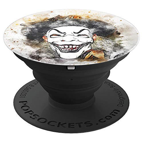 scary clown mask the scariest smile ever Design Gift - PopSockets Grip and Stand for Phones and Tablets]()